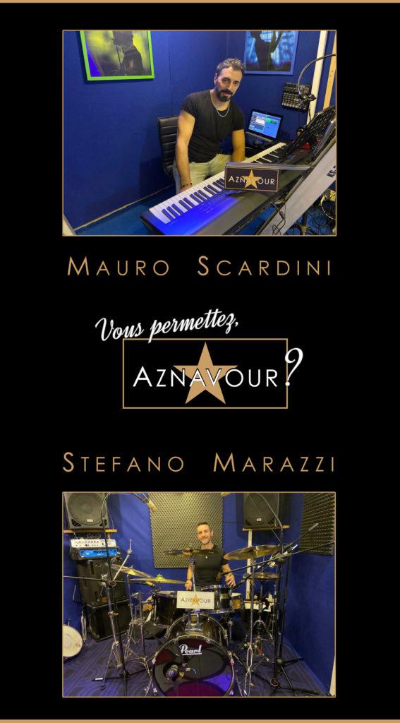 Mauro Scardini e Stefano Marazzi - Vous permettez, Aznavour? di Michelangelo Nari