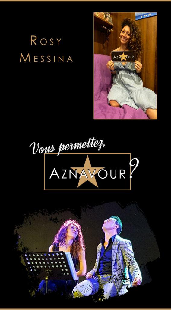 "Rosy Messina - ""Vous permettez, Aznavour?"" - Michelangelo Nari"