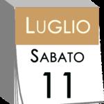 11-07-2020 - Sabato - Calendario