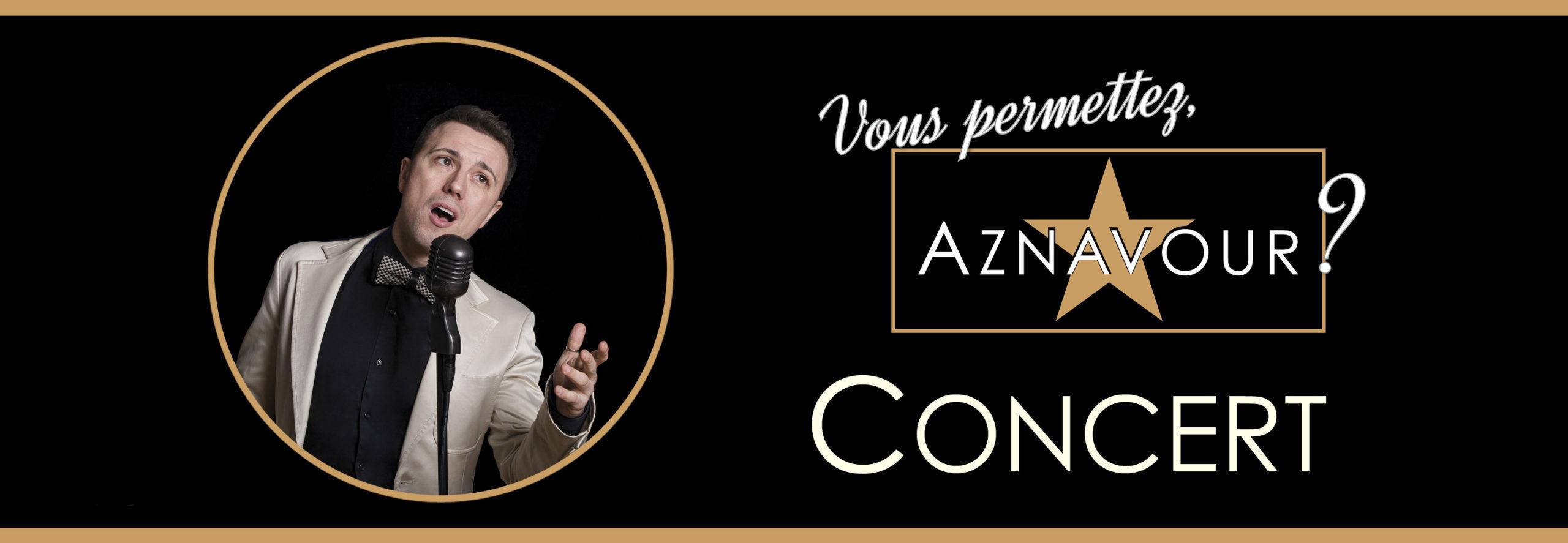 """Michelangelo Nari - Concert """"Vous permettez, Aznavour?"""""""