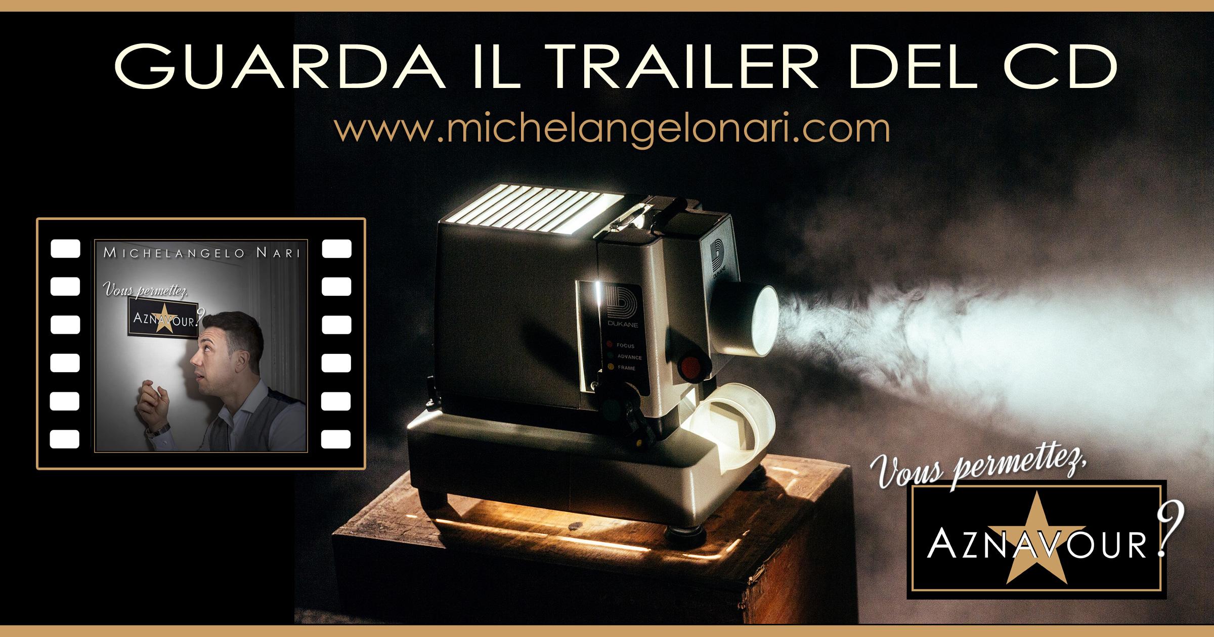 "Michelangelo Nari - ""Vous permettez, Aznavour?"" - Guarda il trailer del CD"