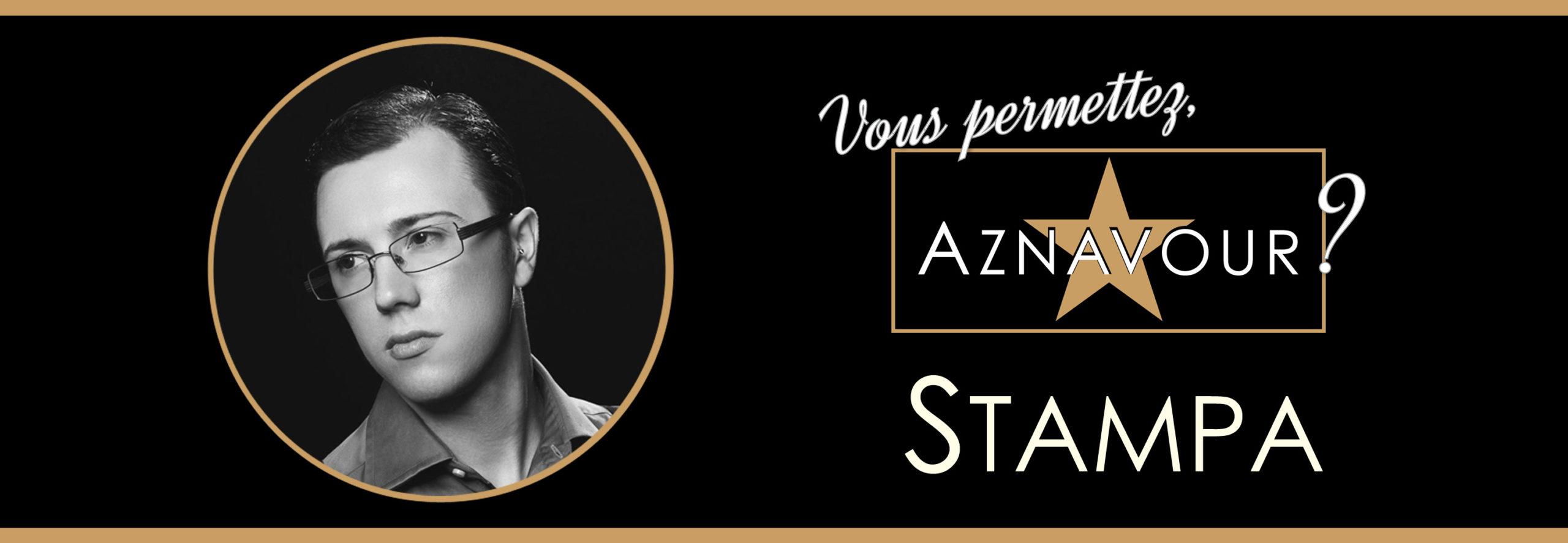 """Michelangelo Nari - Stampa - """"Vous permettez, Aznavour?"""""""