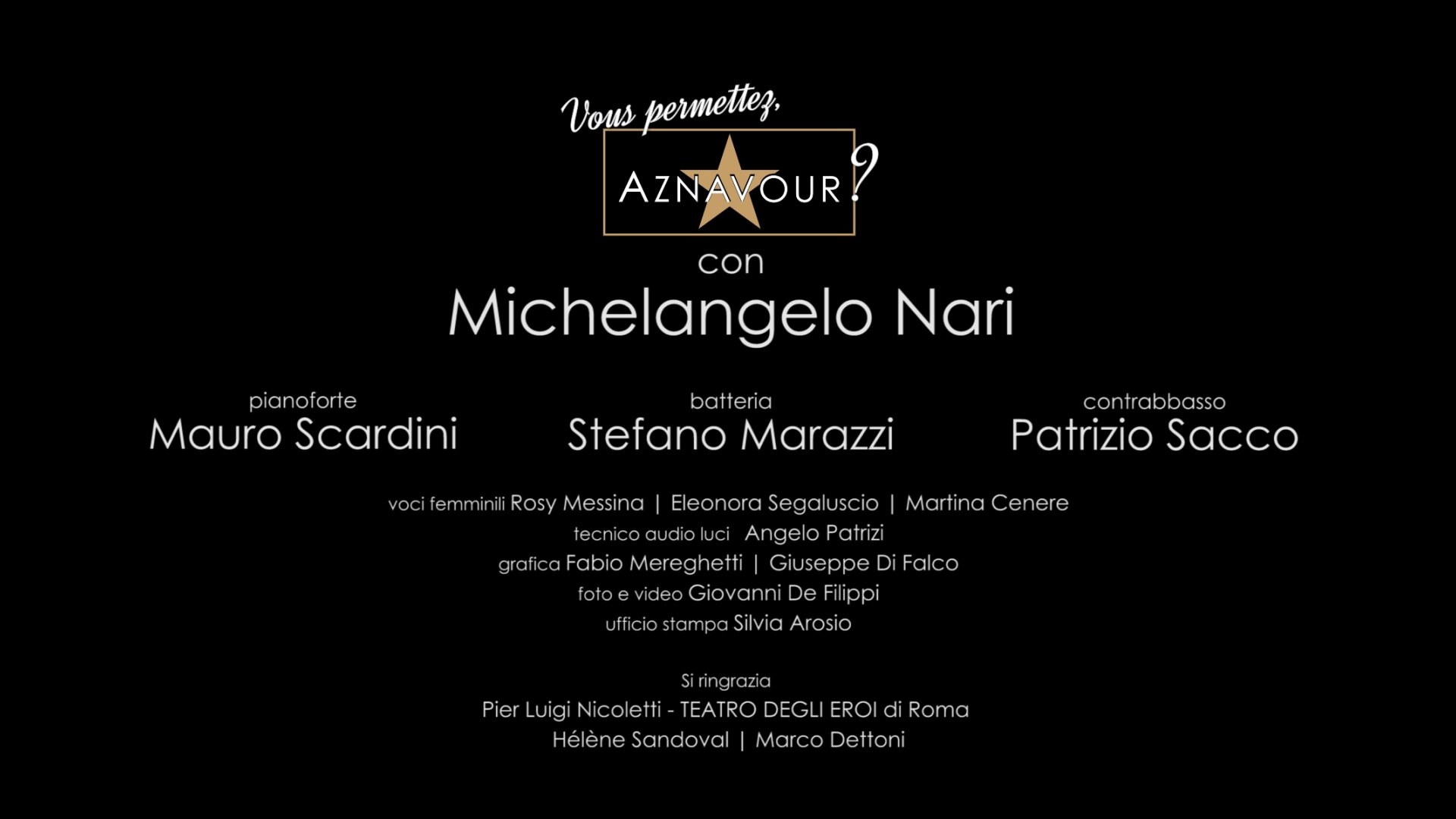 Immagine Video - Trailer Concerto - Michelangelo Nari